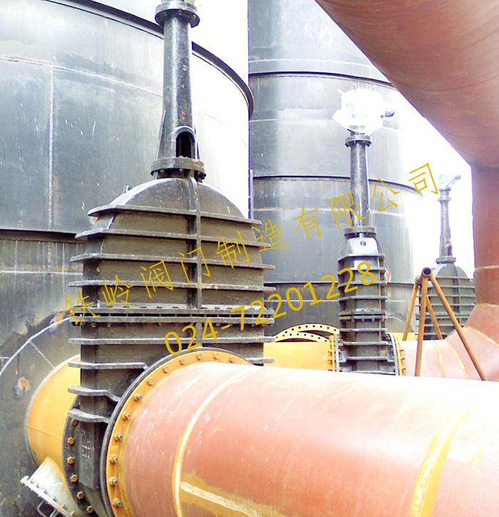 页岩炼油加热炉专用大口径煤气闸阀