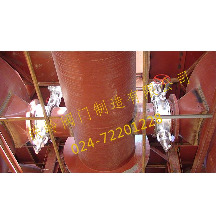 干馏炉供热DN600高温阀门
