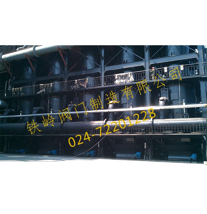 干馏炉专用插板阀门