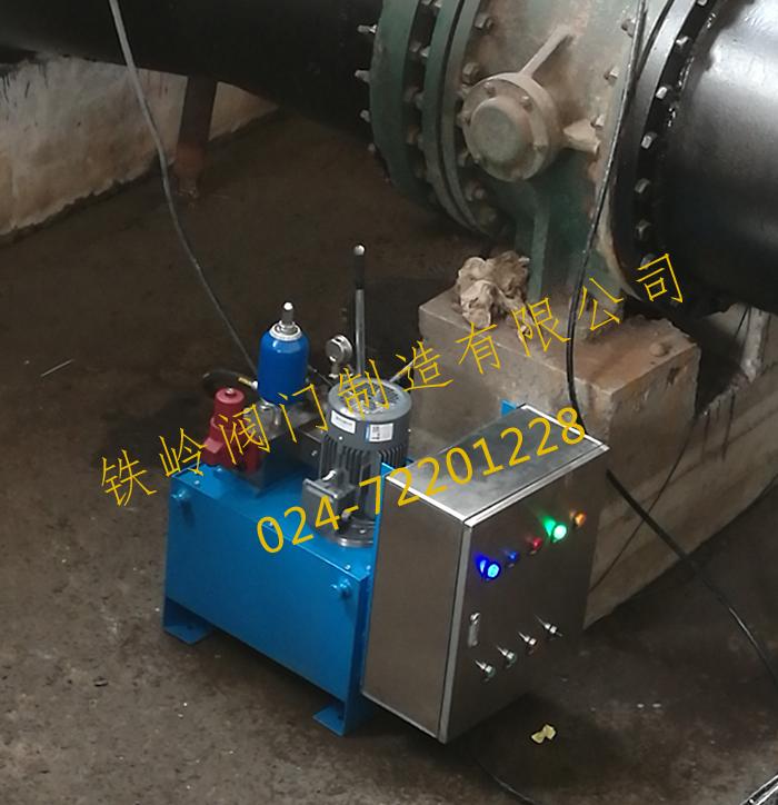 液压站泵房调试
