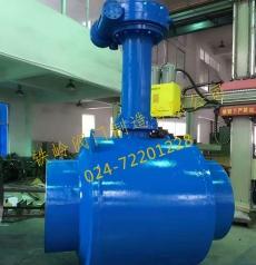 焊接连接大口径管道球阀
