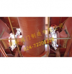 大连干馏炉供热DN600高温阀门