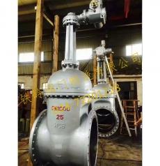大口径铸钢闸阀公称压力2.5MPa
