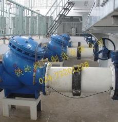 多功能水泵控制阀(膜片式)与蝶阀组合